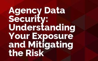 Agency Data Security: Understanding Your Exposure and Mitigating the Risk