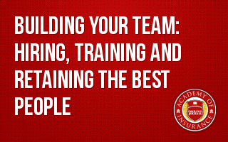 Succession Training- Building Your Team: Hiring, Training and Retaining the Best People