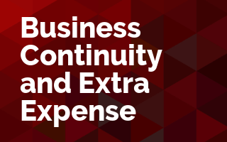 Business Continuity and Extra Expense