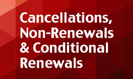 Cancellations, Non-Renewals & Conditional Renewals