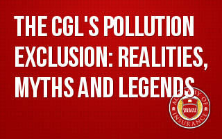 CGL's Pollution Exclusion