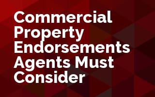 Commercial Property Endorsements