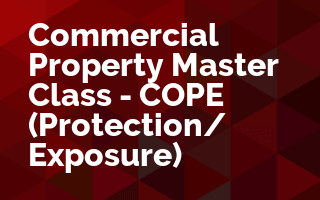 Commercial Property Master Class - COPE - (Protection & Exposure)