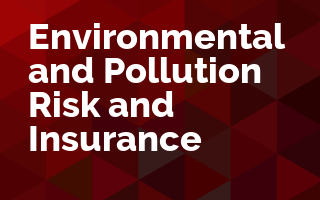 Environmental and Pollution Risk and Insurance