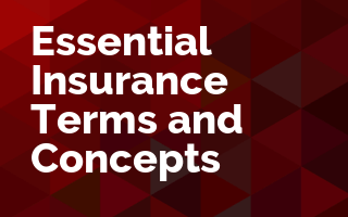 Essential Insurance Terms and Concepts