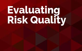 Evaluating Risk Quality