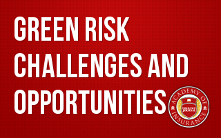 Green Risk- Challenges and Opportunities