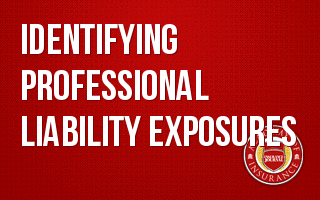 Identifying Professional Liability Exposures