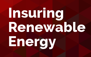 Insuring Renewable Energy