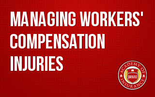 Managing Workers' Compensation Injuries