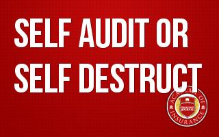 Self-Audit or Self-Destruct
