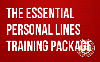 Essential Personal Lines Training
