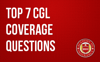 Top 7 CGL Coverage Questions