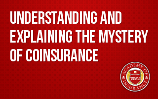 Understanding and Explainaing the Mystery of Coinsurance