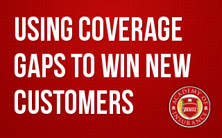 Using Coverage Gaps to Win New Customers