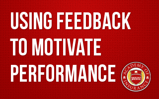 Using Feedback to Motivate Performance