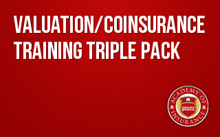 Valuation / Coinsurance Training Triple Pack