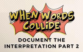 Bill Wilson Document the Interpretation Part 2