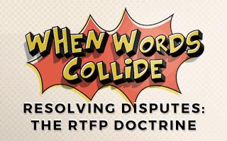 Bill Wilson The RTFP Doctrine