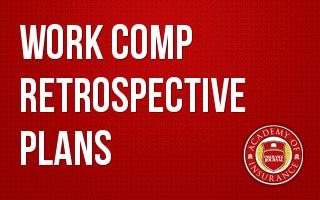 Work Comp Retrospective Rating Plans