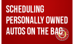 Scheduling Personally Owned Autos on the BAC