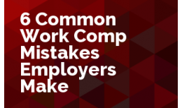 Create Sales Opportunity Using 6 Common Work Comp Errors