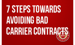7 Steps Towards Avoiding Bad Carrier Contracts