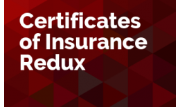 Certificates of Insurance Redux