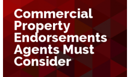 Commercial Property Endorsements