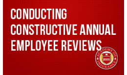 Conducting Constructive Annual Employee Reviews
