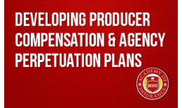 Developing Producer Compensation & Agency Perpetuation Plans