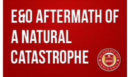 E&O Aftermath of a Natural Catastrophe