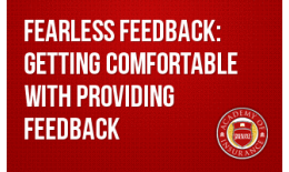 Succession Training- Fearless Feedback: Getting Comfortable with Providing Feedback