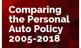 Comparing the ISO Personal Auto Policy 2005-2018