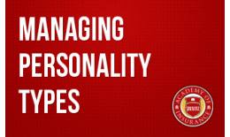 Managing Personality Types