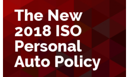 The New 2018 ISO Personal Auto Policy