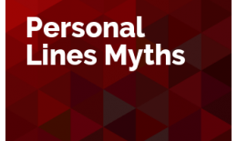 Personal Lines Myths