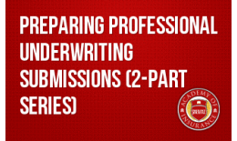 Preparing Professional Underwriting Submissions (2-part series)
