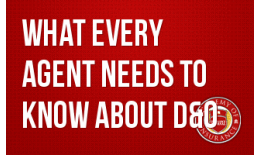What EVERY Agent Needs to Know about D&O