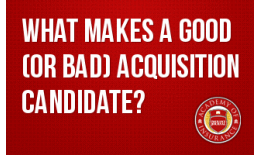What Makes a Good (or Bad) Acquisition Candidate?