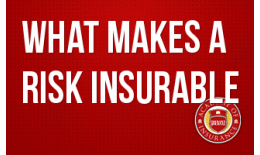 What Makes a Risk Insurable