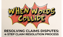 4-step claim resolution process