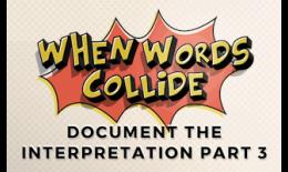 Bill Wilson Document the Interpretation Part 3