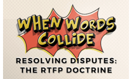 Bill Wilson The RTFP Doctrine
