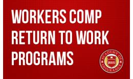 Workers Comp Return to Work Programs