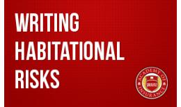 Writing Habitational Risks