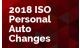 2018 ISO Personal Auto Changes