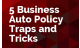 5 Business Auto Policy Traps and Tricks