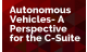 Autonomous Vehicles- A Perspective for the C-Suite