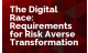 The Digital Race: Requirements for Risk Averse Transformation